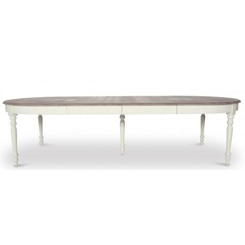 Table à allonges VERSAILLES de Vincent Sheppard, blanche