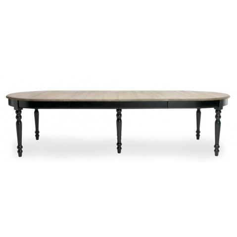 Table à allonges VERSAILLES de Vincent Sheppard, noir