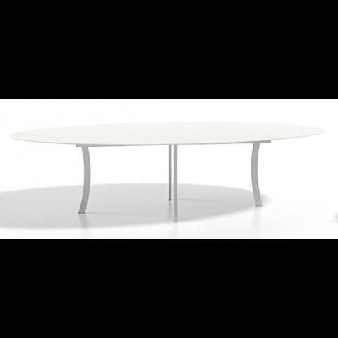 Table à manger ELYPS 120x60x29 de Joli, Blanc