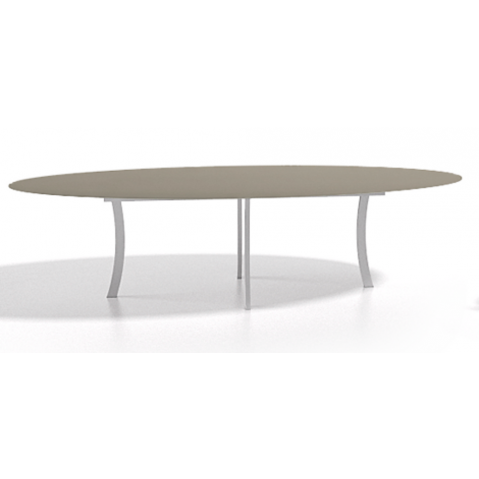 Table à manger ELYPS 210x128x75 de Joli, Taupe
