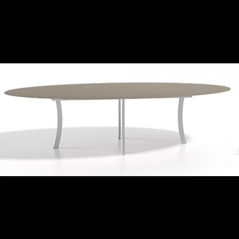 Table à manger ELYPS 300x128x75 de Joli, Taupe