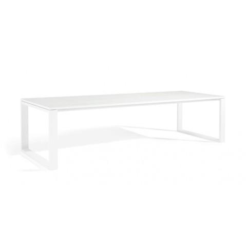 Table à manger FUSE de Manutti, Blanc