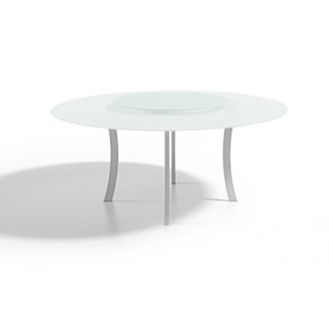 Table à manger LUNA 140x75 de Joli, Blanc