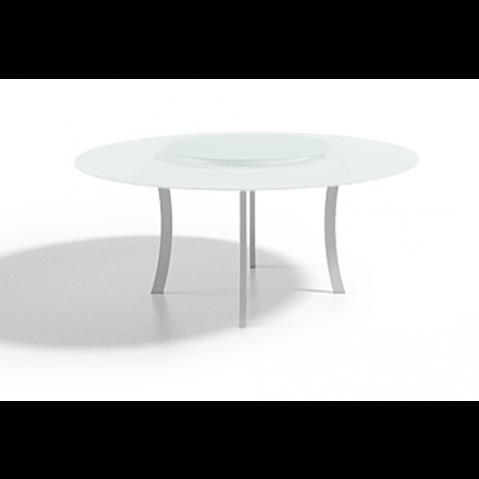 Table à manger LUNA 160x75 de Joli, Blanc