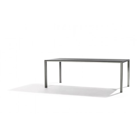 Table à manger MYSTRAL de Tribu, 170x98 cm, Marron