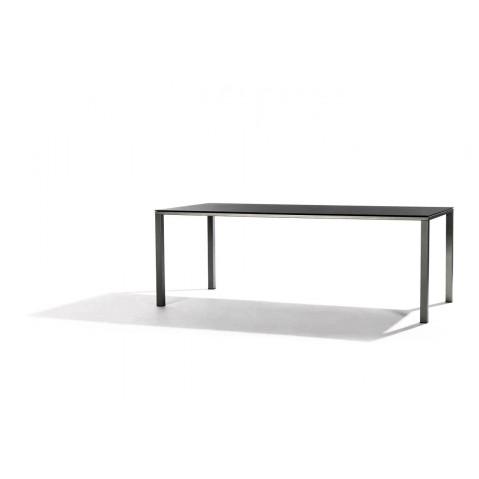 Table à manger MYSTRAL de Tribu, 170x98 cm, Noir