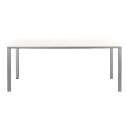 Table à manger MYSTRAL de Tribu, 210x98 cm, Blanc