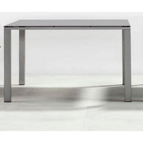 Table à manger MYSTRAL de Tribu, 98x98 cm, Marron