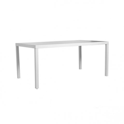 Table à manger PICASS de Tribu, L.210X P.98 XH.75, Blanc