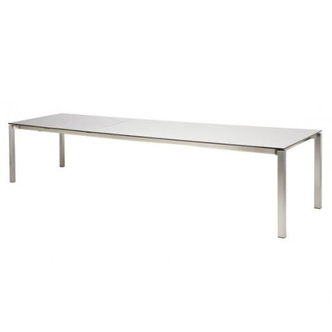 Table à manger SEXION de Royal Botania, Blanc, 73x100x275