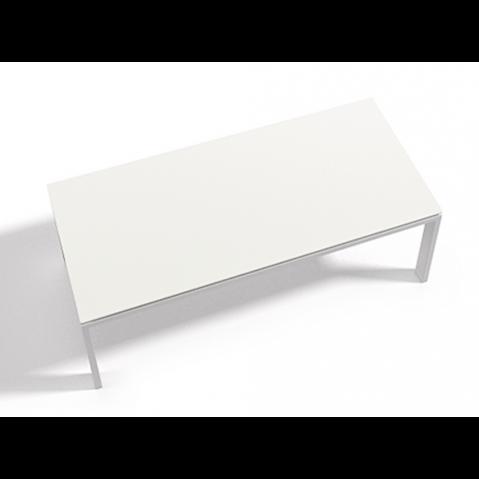 Table à manger WINGS 100x100x75 de Joli, Blanc