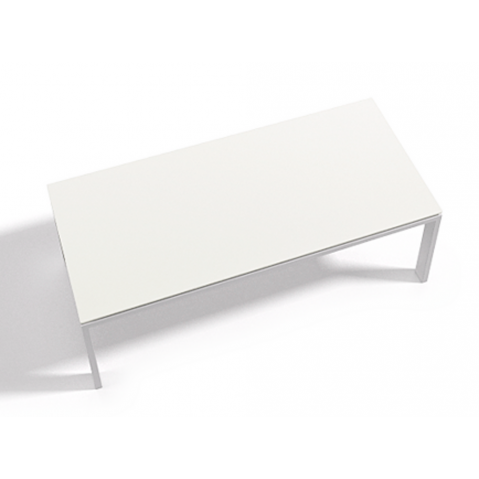 Table à manger WINGS 130x130x75 de Joli, Blanc