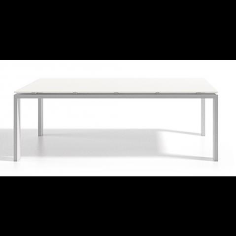 Table à manger WINGS 140x90x75 de Joli, Blanc