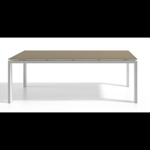 Table à manger WINGS 150x150x75 de Joli, Taupe