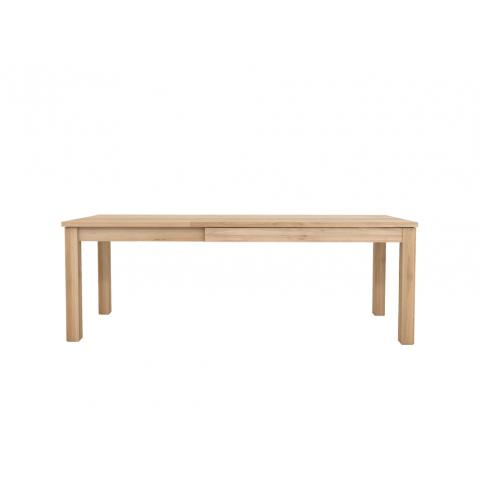 Table à rallonge OAK STRAIGHT d'Ethnicraft, 3 tailles
