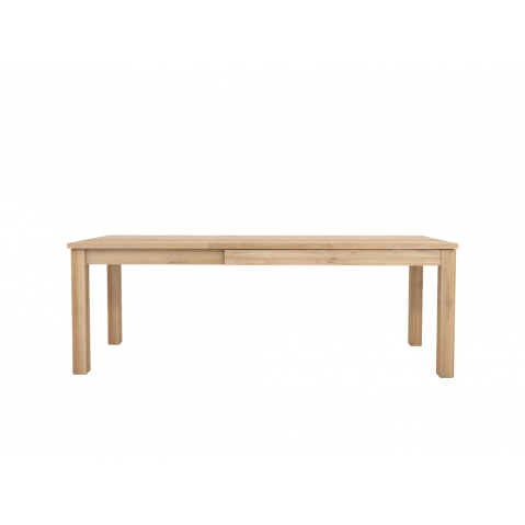 Table à rallonge OAK STRAIGHT d'Ethnicraft, L.140/220