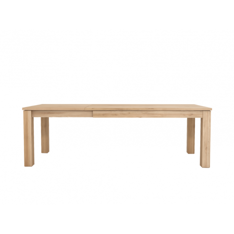 Table à rallonge OAK STRAIGHT d'Ethnicraft, L.160/240