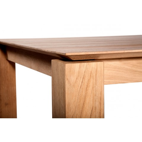 Table à rallonges SLICE en chêne d'Ethnicraft-L.140/220