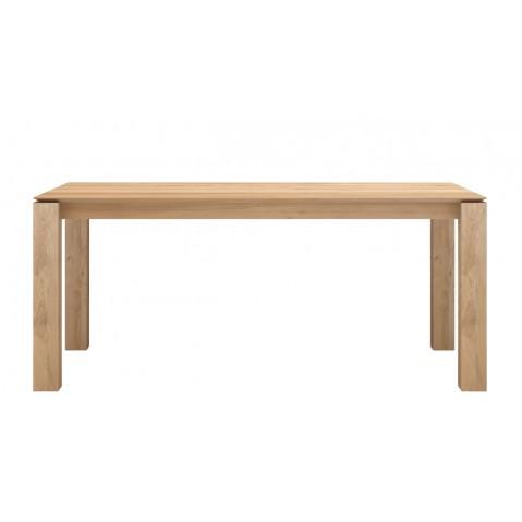 Table à rallonges SLICE en chêne d'Ethnicraft, 3 tailles
