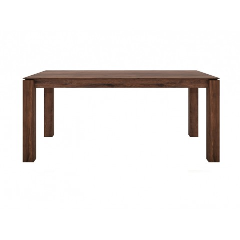 Table à rallonges SLICE en noyer d'Ethnicraft, 160/233