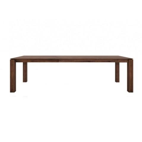 Table à rallonges SLICE en noyer d'Ethnicraft, 180/280