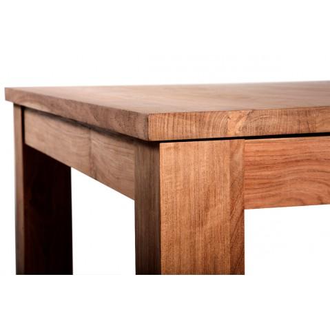 Table à rallonges STRETCH en teck d'Ethnicraft-L.140/220
