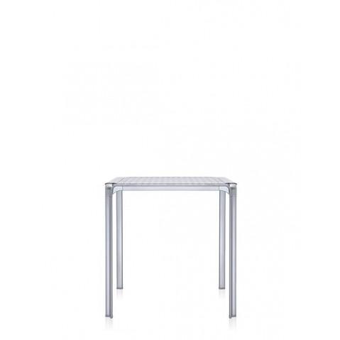 Table AMI AMI de Kartell, Cristal-aluminium