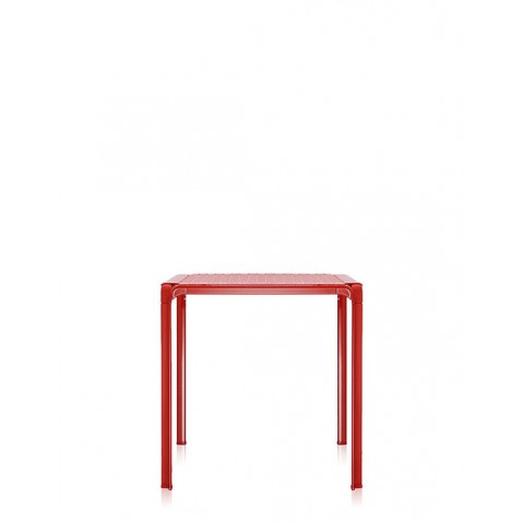 Table AMI AMI de Kartell, Rouge