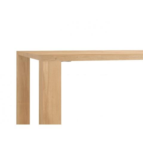 Table APRON en chêne d'Ethnicraft, 180x90cm