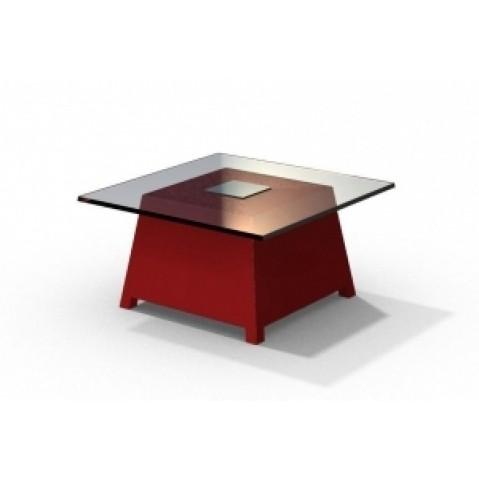 Table basse - RAFFY M10 - avec plateau 66x66 cm Qui est Paul, 17 Coloris