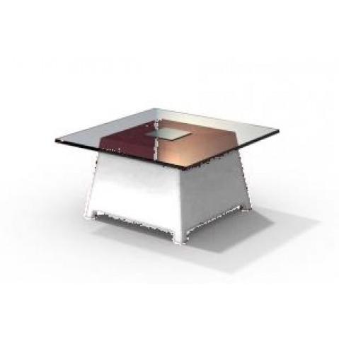 Table basse - RAFFY M10 - avec plateau 66x66 cm Qui est Paul Blanc