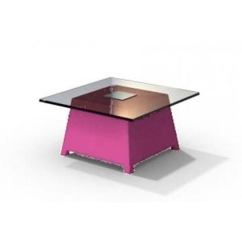 Table basse - RAFFY M10 - avec plateau 66x66 cm Qui est Paul Fushia