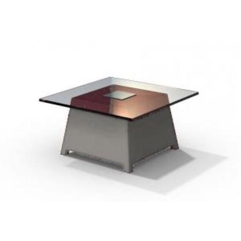 Table basse - RAFFY M10 - avec plateau 66x66 cm Qui est Paul Gris