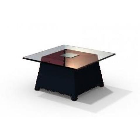 Table basse - RAFFY M10 - avec plateau 66x66 cm Qui est Paul Noir