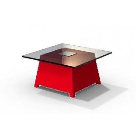 Table basse - RAFFY M10 - avec plateau 66x66 cm Qui est Paul Rouge