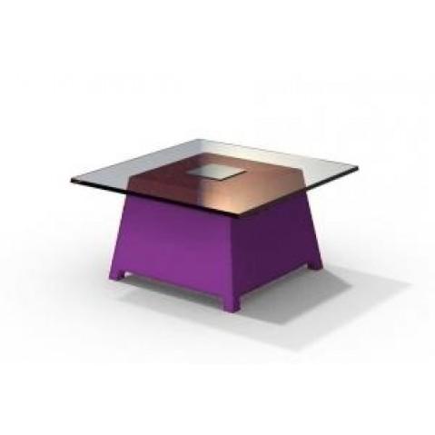 Table basse - RAFFY M10 - avec plateau 66x66 cm Qui est Paul Violet