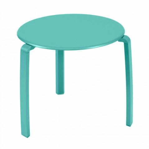 Table basse ALIZÉ de Fermob Bleu lagune