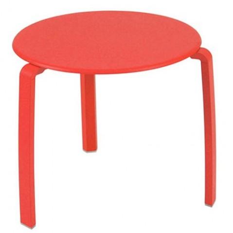 Table basse ALIZÉ de Fermob, Capucine