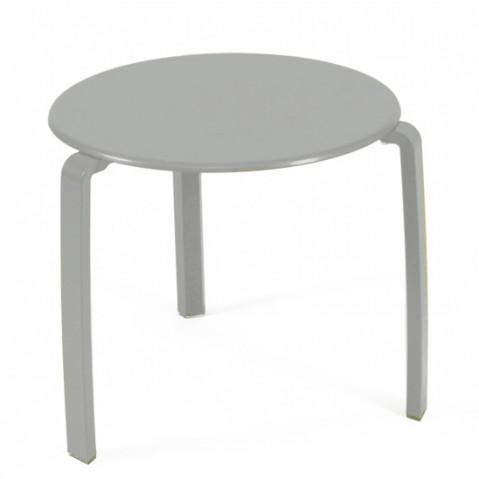 Table basse ALIZÉ de Fermob gris métal