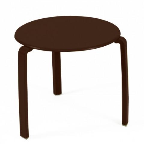 Table basse ALIZÉ de Fermob, Rouille