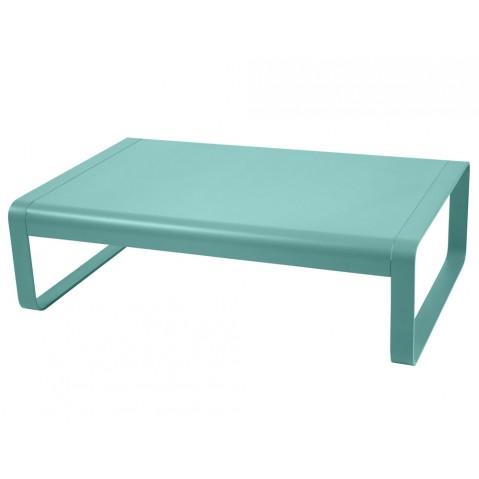 Table basse BELLEVIE de Fermob, Bleu lagune