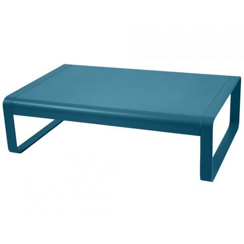 Table basse BELLEVIE de Fermob, Bleu turquoise