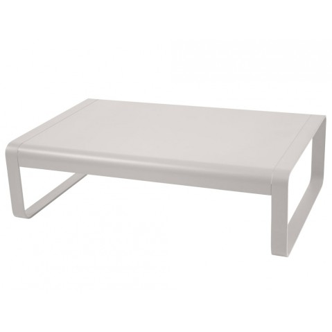 Table basse BELLEVIE de Fermob, Gris métal