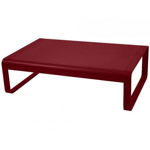 table basse bellevie de fermob piment. Black Bedroom Furniture Sets. Home Design Ideas