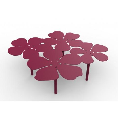 Table basse bouquet NOTUS de Matière Grise, Violine