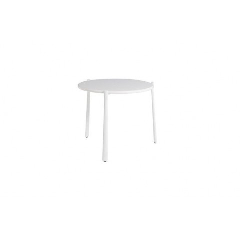Table basse BRANCH de Tribù, Blanc, D.60 X H.27