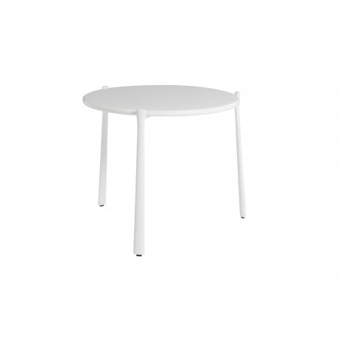 Table basse BRANCH de Tribù, Blanc, D.70 X H. 27
