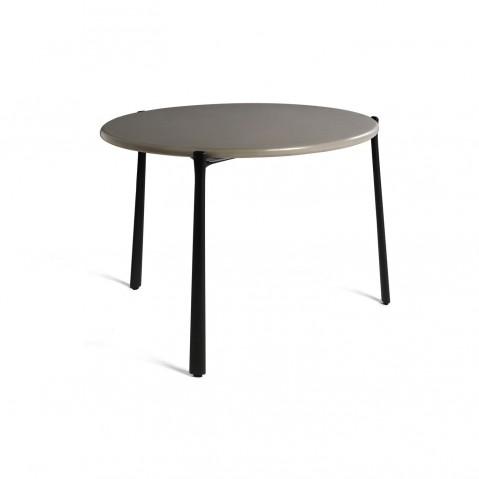 Table basse BRANCH de Tribù, Wengé, D.50 X H.27