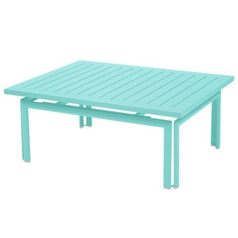 Table basse COSTA de Fermob Bleu lagune