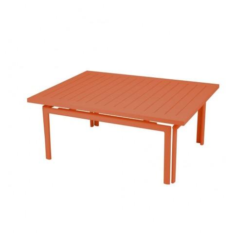 Table basse COSTA de Fermob carotte